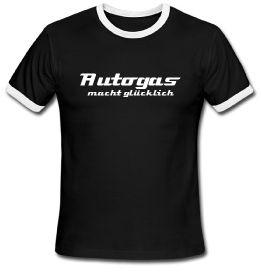 """""""Autogas macht glücklich"""" T-shirt"""