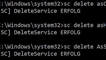 Asus – AI Suite hinterlässt Services