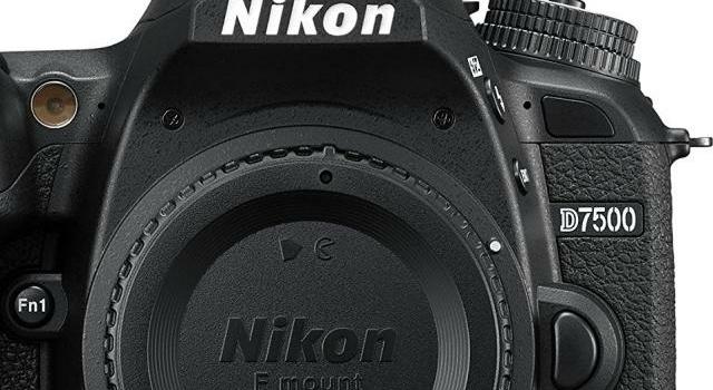 Meine Nikon D7500 und ich